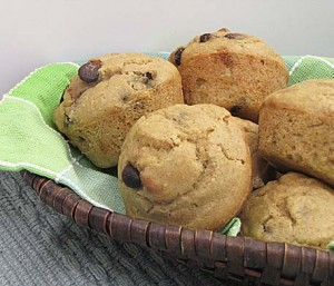 Chocolate Chip Bean Muffins