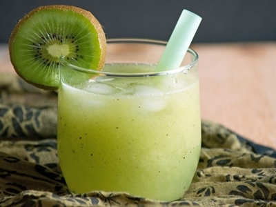 Kiwifruit juice.