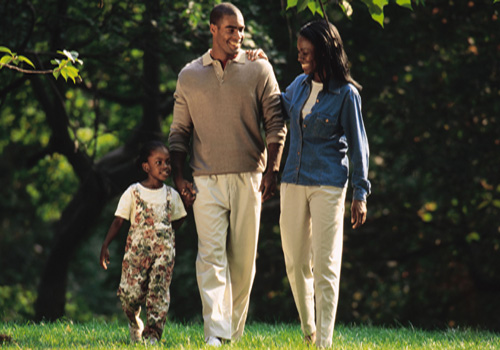 Happy-family-african-american-couple-in-love