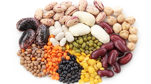 vegetarian foods - beans and lentils