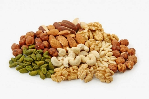 vegetarian foods - nuts and seeds