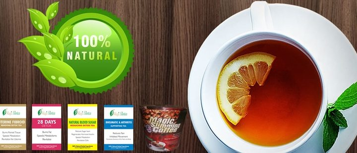 Magic Slim tea: Lose weight in weeks and removes fibroid too!