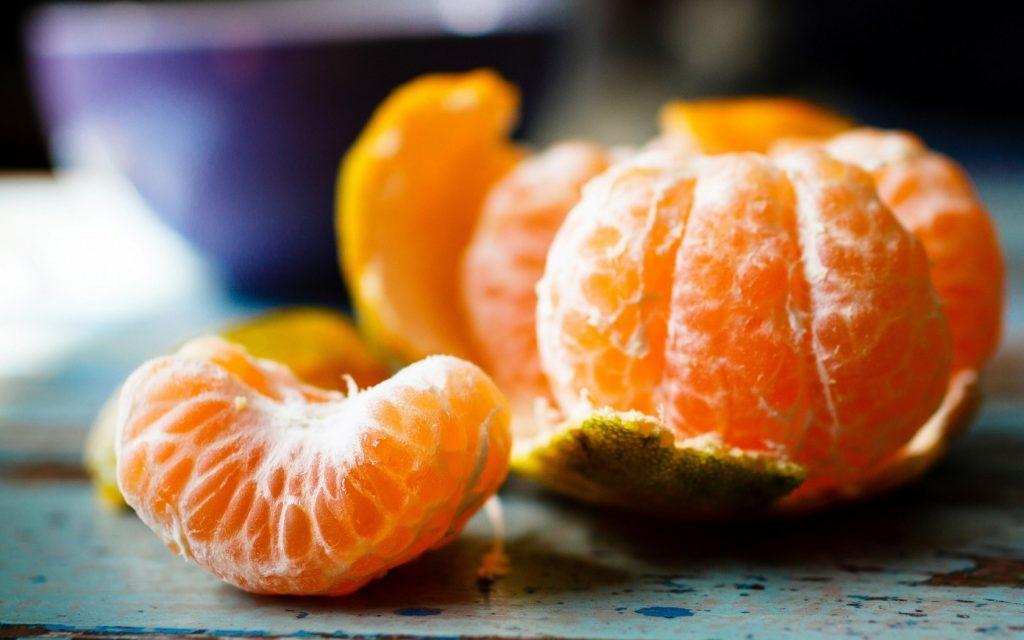 healthy foods - tangerine