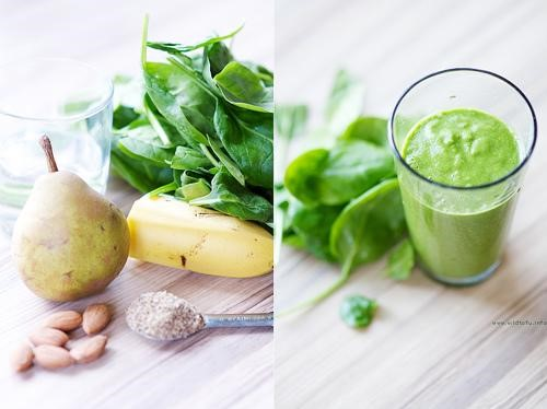 green smoothie for healthy lifestyle