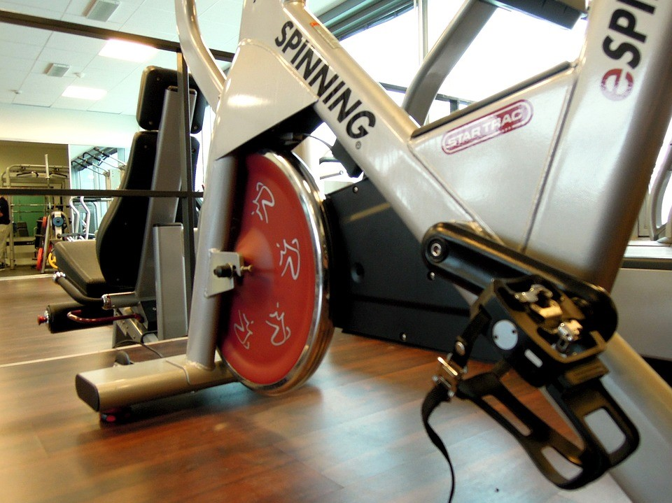 spin bike for healthy lifestyle