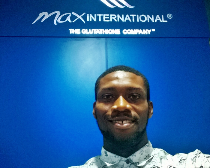 Collins Akanno of Diet234 visits Max International