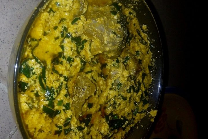Egusi Soup and Eba – My Favourite Meal