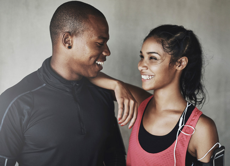 Lose weight with your fiance