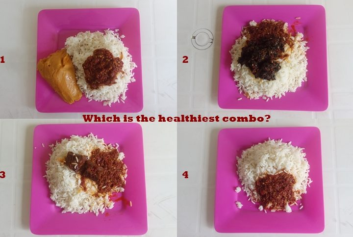 Healthiest Boiled Rice Meal Combination