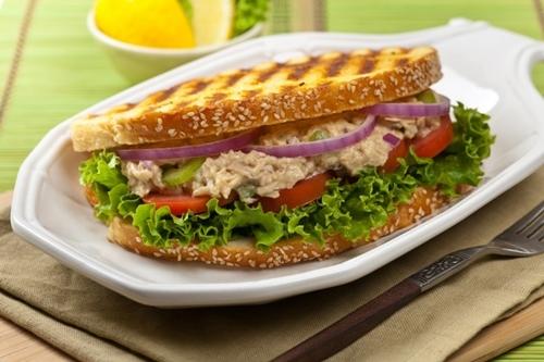 Whole wheat veggies sandwich