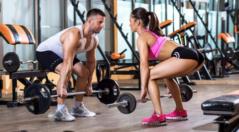couple as gym buddy for each other